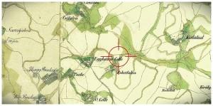Gelle község 1817-ben